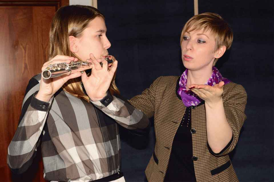 уроки флейты - лучшая музыкальная школа Киева