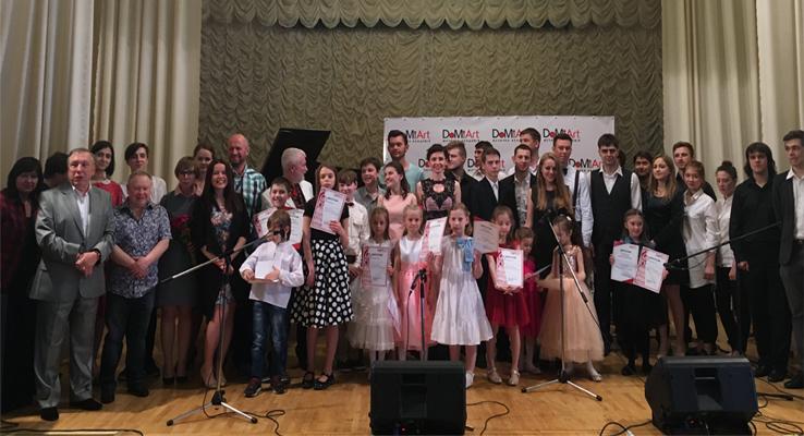 Годовой отчетный концерт DoMiArt 4