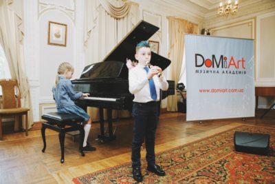 """Состоялся годовой отчетный концерт учеников Музыкальной Академии """"Домиарт"""" 6"""