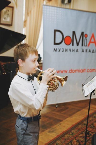"""Состоялся годовой отчетный концерт учеников Музыкальной Академии """"Домиарт"""" 2"""